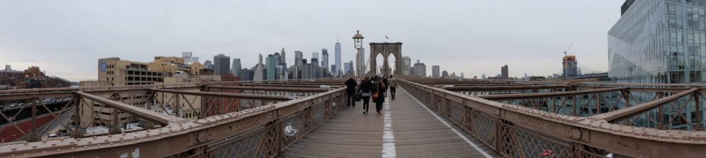 Brooklyn greeting Manhattan