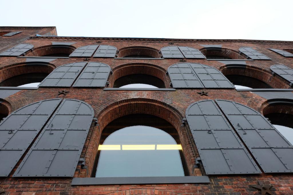 Warehouse facade
