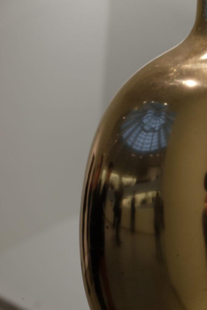 Guggenheim Museum 4 - Glass dome on golden sculpture