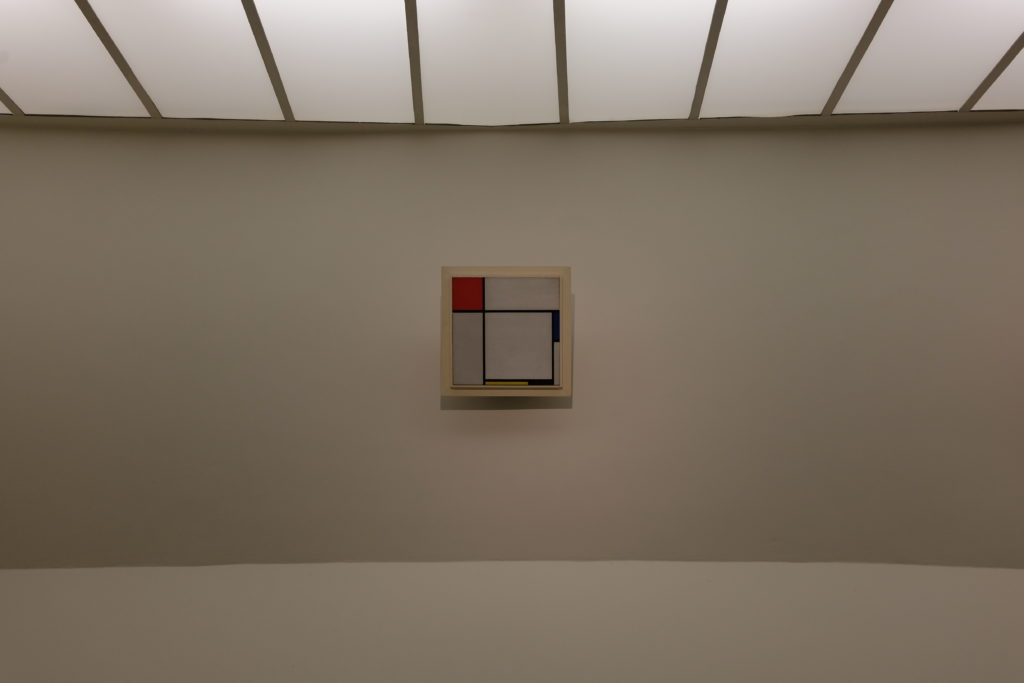 Guggenheim Museum 7 - They even have art there! (Piet Mondrian)