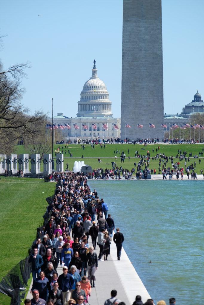 So many tourists!