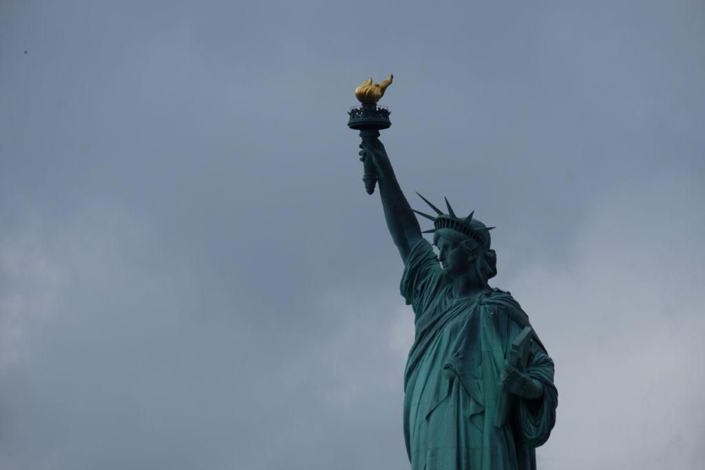 ...gracious Lady Liberty!