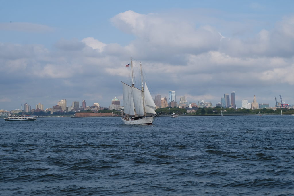 A sailboat!