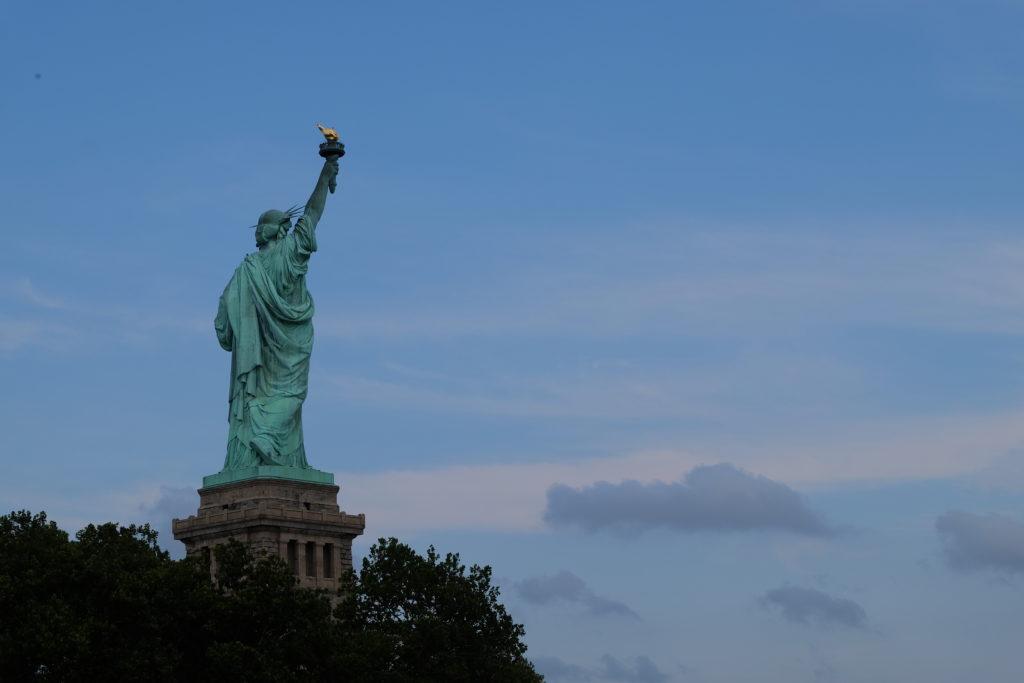 Bye bye, Lady Liberty, hope to see you soon!