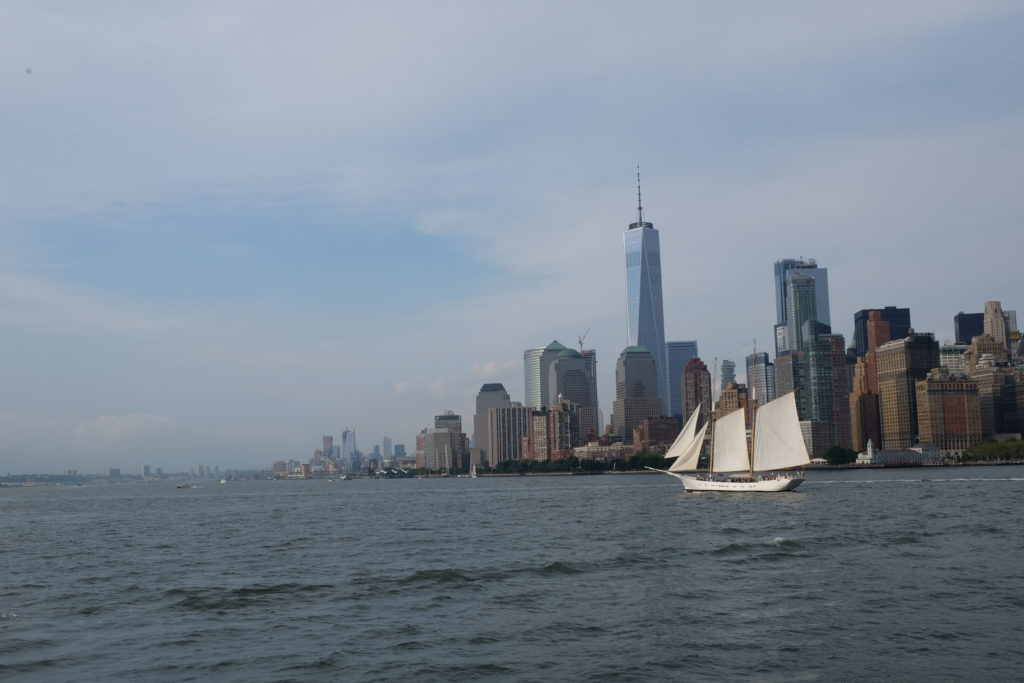 Arriving back in Manhattan - What an experience!
