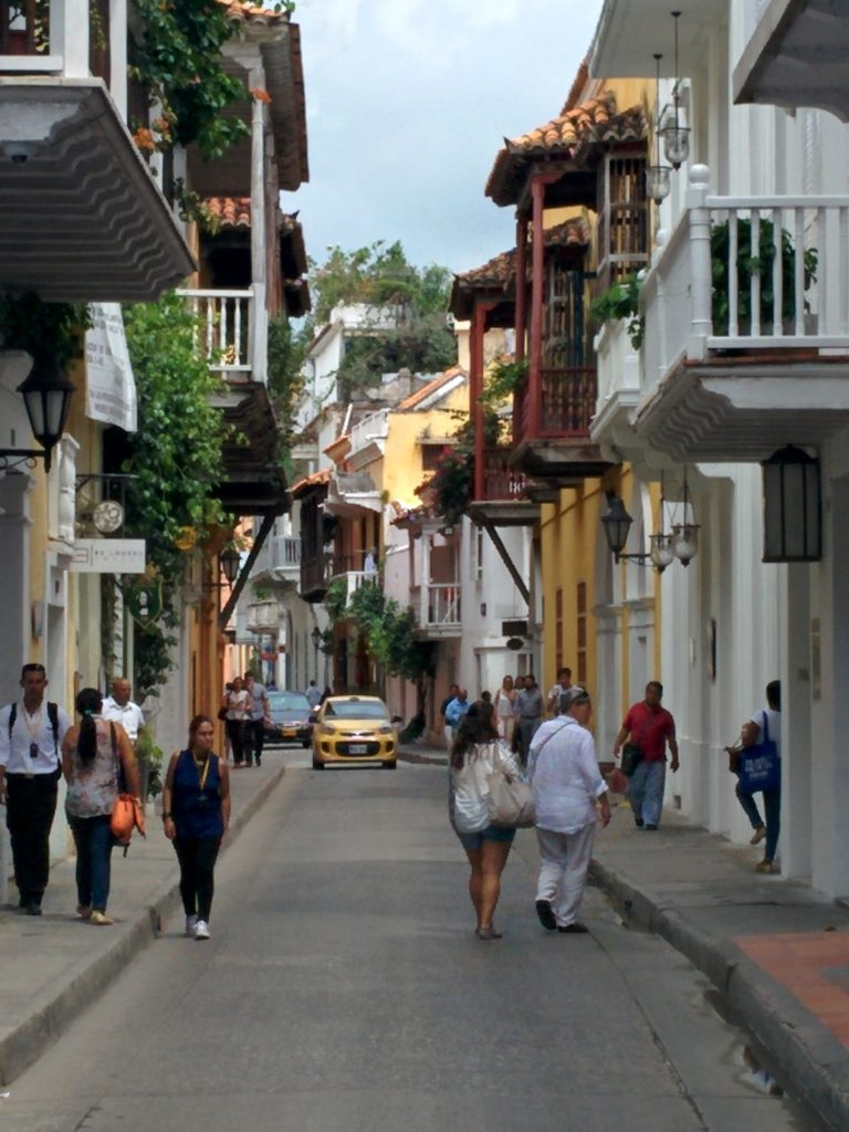 Cute town Colombian style