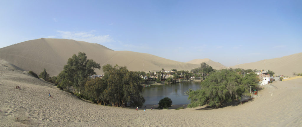 Not so untouched oasis...