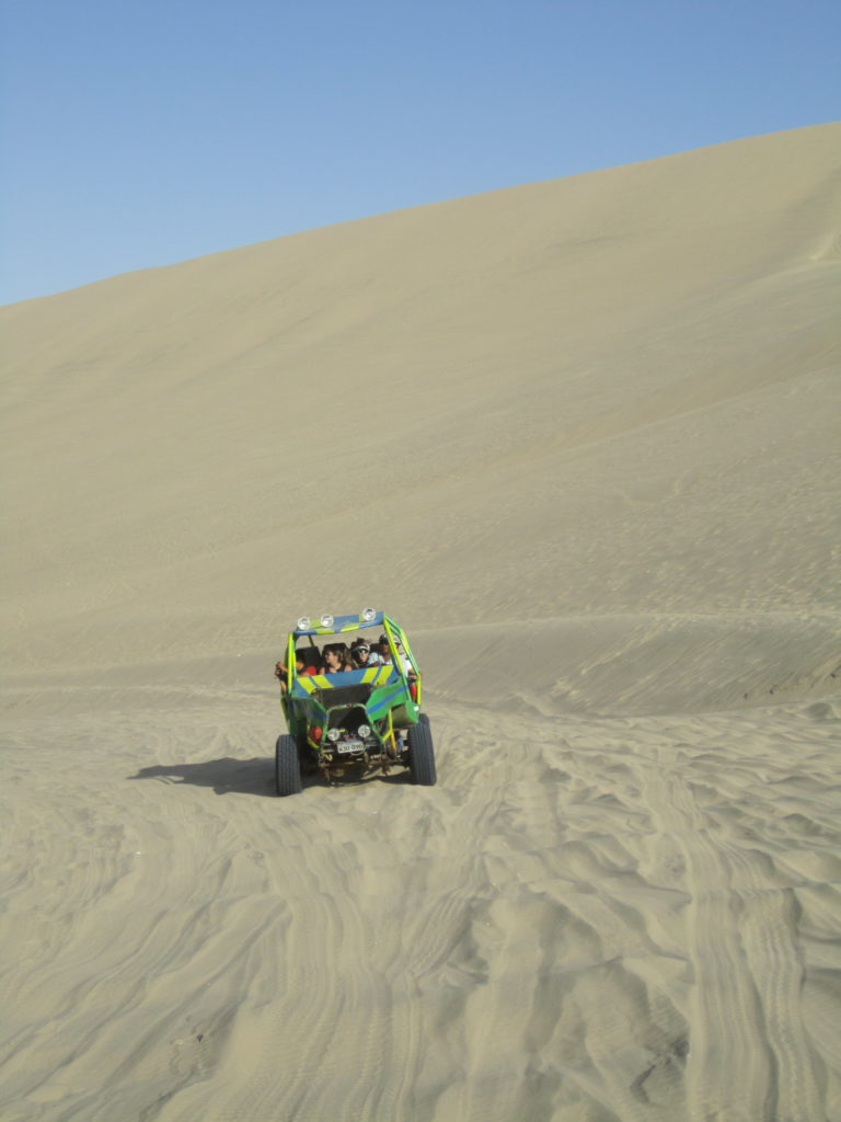 Unfortunately no time for sand buggies rides though